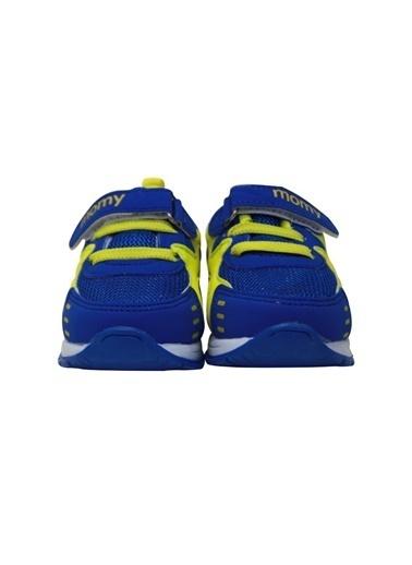 Momykids Anatomik Spor Ayakkabı Erkek Bebek Işıklı Saks